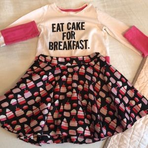 Kate spade children's outfit.
